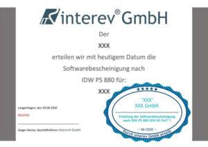 Musterzertifikat_IDW_PS_880